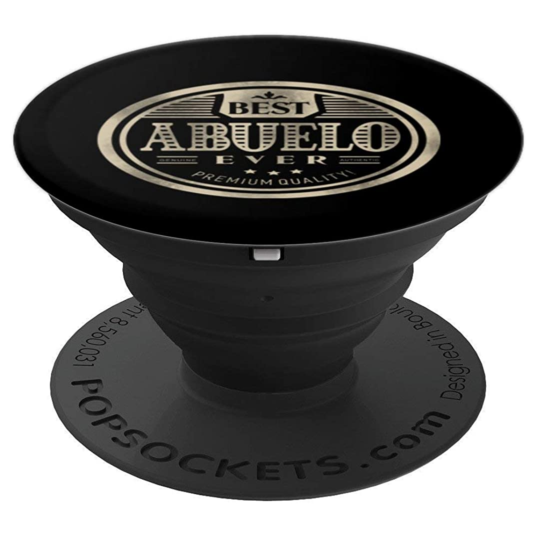 Best Abuelo Ever Grandpa Pop Socket - PopSockets Grip and Stand for Phones and Tablets