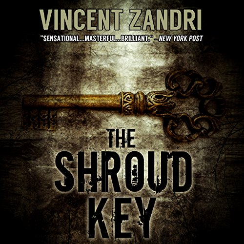 The Shroud Key audiobook cover art