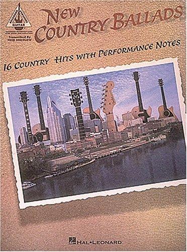 Contemporary Country Ballads