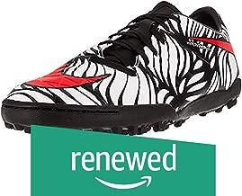 (Renewed) Nike Men's Hypervenom Phelon II NJR Tf Black/Bright Crimson/White Turf Soccer Shoe 9 Men US