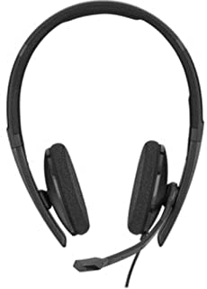 Sennheiser SC 160 USB (508315) - Double-Sided (Binaural) Headset for Business Professionals | with HD Stereo Sound, Noise ...