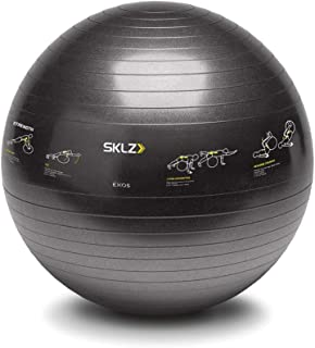 SKLZ Sport Performance Exercise Ball - Self-Guided Illustrations