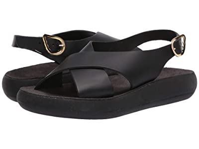 Ancient Greek Sandals Maria Comfort (Black) Women