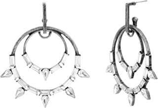 Steve Madden Women's Alloy Rhinestone Multi Color Drop and Dangle Earrings - SME590622BS