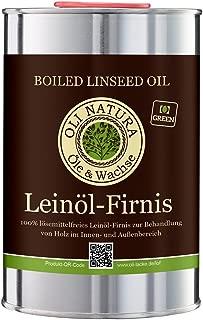 OLI-NATURA aceite de linaza barniz, conservación biológica