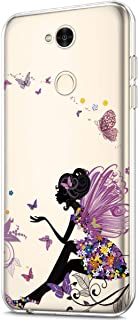 ikasus Case for Sony Xperia XA2 Ultra,Clear Art Panited Design Soft TPU Ultra-Thin Transparent Flexible Soft Rubber Gel TP...