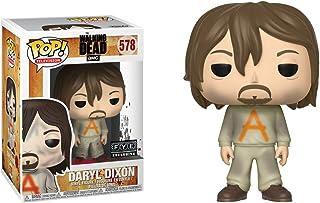 Funko Daryl Dixon (f.y.e. Exclusive): Walking Dead x POP TV Vinyl Figure & 1 POP Compatible PET Plastic Graphical Protecto...
