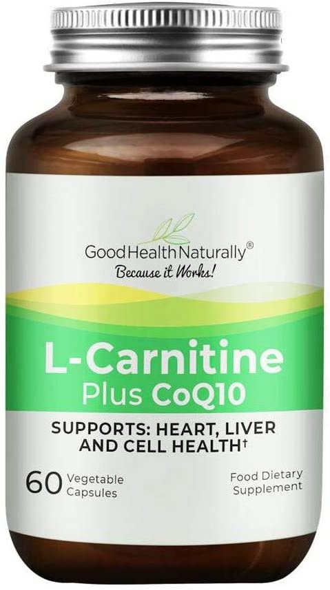 L-Carnitine Plus CoQ10 - for Heart Health Al sold out. Cell 60 and Clearance SALE! Limited time! Liver