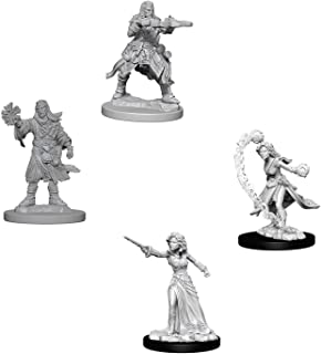 Pathfinder Battles Deep Cuts Miniatures Bundle: Human Male Wizard & Human Female Wizard