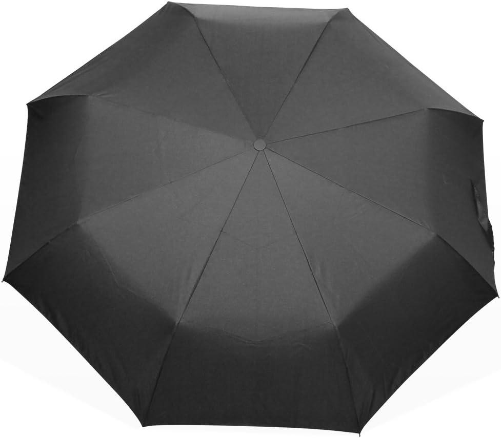 Black Green Elephant Foldable Umbrella UV Protection Folding Sun Blocking Umbrellas for Beach Travel Kids Women Boys Girls