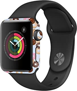 MightySkins Skin Compatible with Apple Watch Series 3 42mm - Donut Binge | Protective, Durable, and Unique Vinyl Decal wrap Cover | Easy to Apply, Remove, and Change Styles | Made in The USA