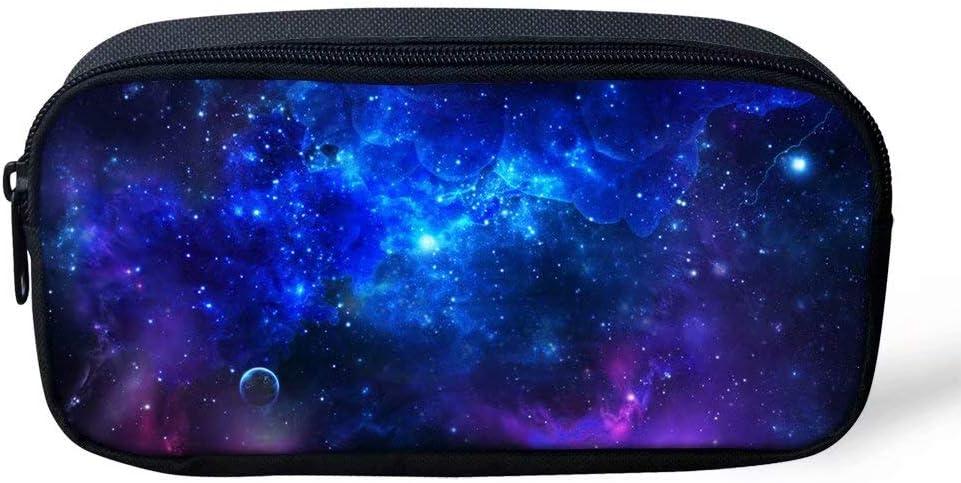 Dellukee Cute Galaxy Ranking TOP1 Pencil Bag For Durable Compa 5 ☆ popular Practical Kids