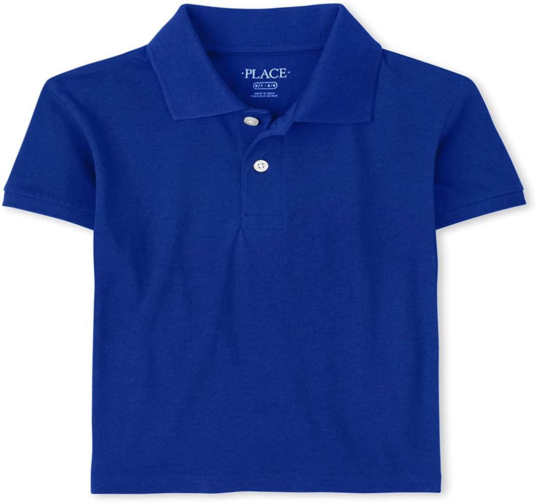 The Children's Place Boys' Uniform Jersey Polo