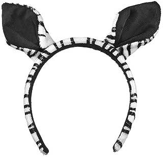 zebra costume ears