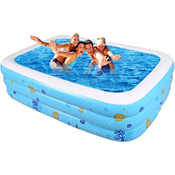 ASL Familia de gran tamaño Piscina inflada Hogar grande piscina de ...
