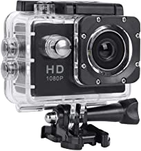 Action Camera 1080P,Digital Sports Video Camcorder Recording Cam 30m Waterproof 2 Inch HD Screen with 140° Wide Angle Lens...