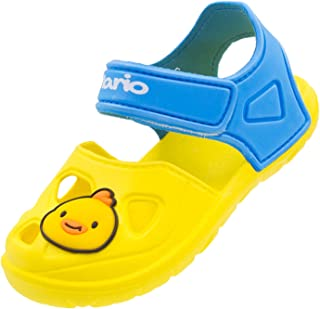 Kids Toddler Sandals Shower Bathroom Slippers Non-Slip Thickened Summer Slide Sandals Beach Pool Water Shoes for Girls and...