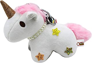 Cute Unicorn Pendant Keychain Car Keychains Keyrings Bag Purse Charms Key Ring