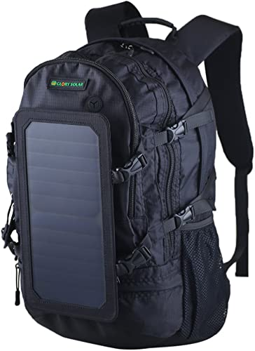 Générique MagiDeal Panneau Solaire USB Chargeur Sac à Dos étanche Sac de Camping