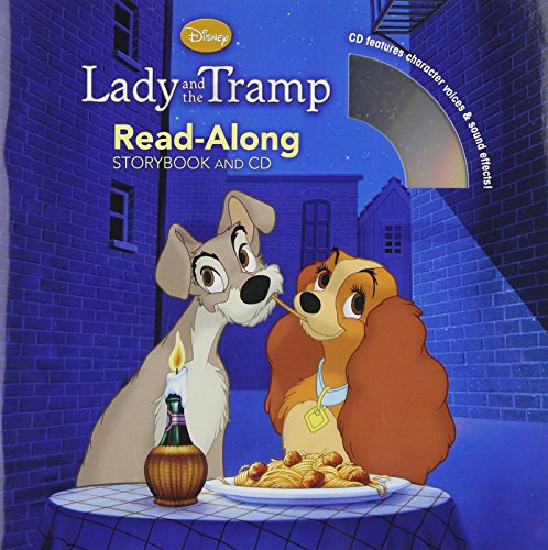 Lady and the Tramp Read-Along Storybook and CD by Disney Book Group (27-Dec-2011) Paperback