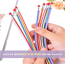 Sameno Twistable Pencils ✔ 5/15/30/60 pcs Colorful Magic Flexible Soft Pencil Erasable Writing Pencils Bulk Back to School Gift for Kids