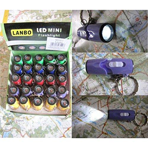 porte clés lampe de poche LED avec boussole