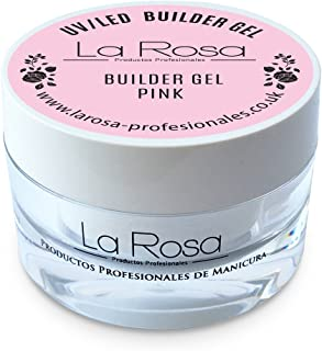 La Rosa builder gel pink gel de construcción uv rosa - 30 ml