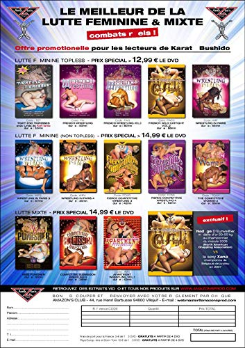 Amazon's Prod - Women's wrestling & Mixed wrestling 13-Disc DVD Box Set