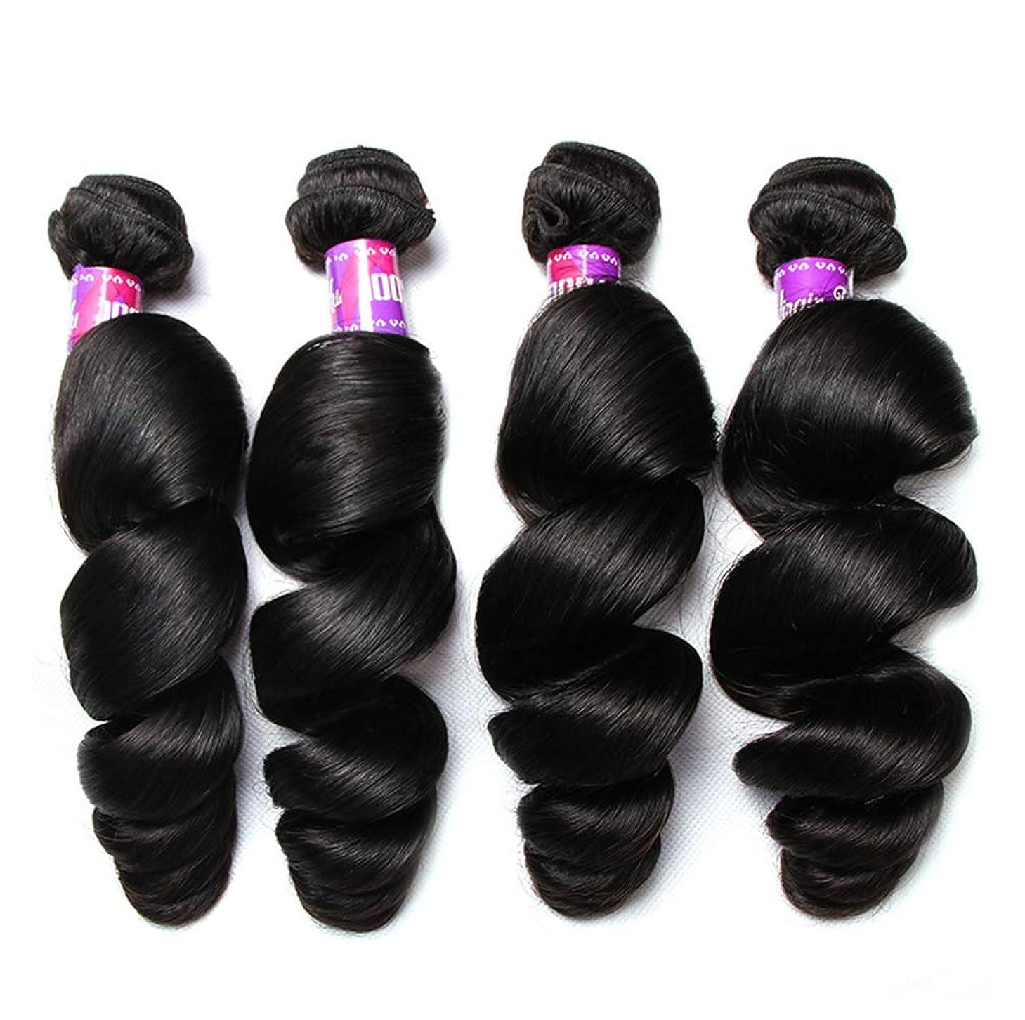 厚い邪魔岩ブラジルのボディーウェーブの毛の束8Aブラジルのボディーウェーブのバージンの毛100%未処理の二重よこ糸の人間の毛髪延長(3束)