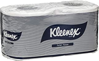 Kleenex Executive Toilet Tissues Twin Pack, White, 250 Sheets/Roll, Case of 24 Twin Packs
