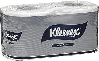 Kleenex 4738 Kleenex Executive Toilet Tissues Twin Pack, White, 250 Sheets/Roll, Case of 24 Twin Packs, White 5.140 kilograms