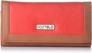 Fostelo Women's Erica Two Fold Wallet (Red)
