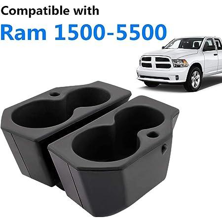 AJOOBIS Foam Cup Holder Fits for 2009-2019 Dodge Ram 1500 2500 3500 4500 5500 Trucks Left and Right Front Door Replaces 5NN24XXXA 1LD23XXXAA Pack of 2