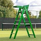 Vermont Chaise d'Arbitre Tennis Traditionnelle – Design Pliable en Bois