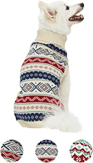 Blueberry Pet 15 Patterns Christmas Clothes - Christmas Family Interlock Sweaters for Dogs, Children and Parents, Lovely Sweatshirts for Dogs