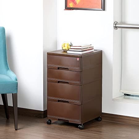Cello Storewell Chest of Drawers (Ice Brown)