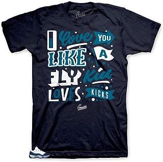 Tee Shirt Match Jordan 11 Blue Snakeskin - Loves Kicks Tee