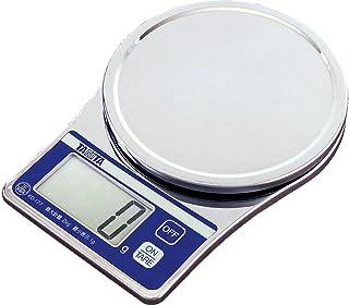 タニタ クッキングスケール キッチン はかり 料理 デジタル 2kg 1g単位 クロム メッキ KD-177 CR