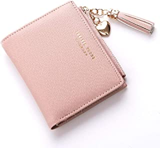 Oulm Stylish Pink Women Wallet - (WA-3)