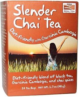 Now Foods Slender Chai Tea - 24 Tea Bags