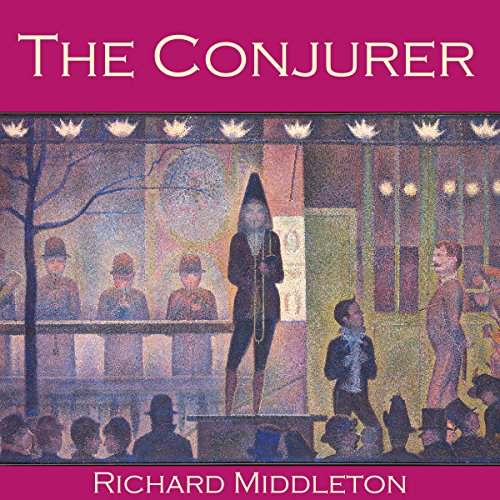 The Conjurer audiobook cover art