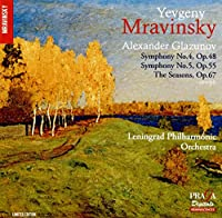 Glazunov: Symphonies No 4 & 5