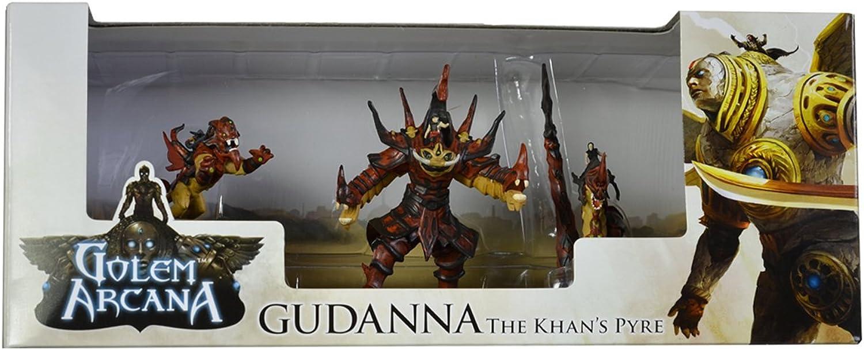 Golem Arcana Gudanna The Khans Pyre Board Game