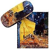 VON LILIENFELD Portaocchiali Astuccio Occhiali Regalo Donna Arte Vincent van Gogh: Caffè notturno