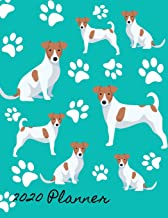 2020 Planner: 2020 Weekly Planner Organizer Dated Calendar And ToDo List Tracker Notebook Jack Russell Terrier Dog