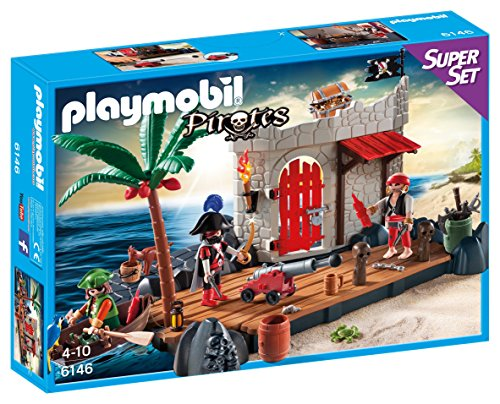 PLAYMOBIL - Fuerte Pirata, superset (61460)