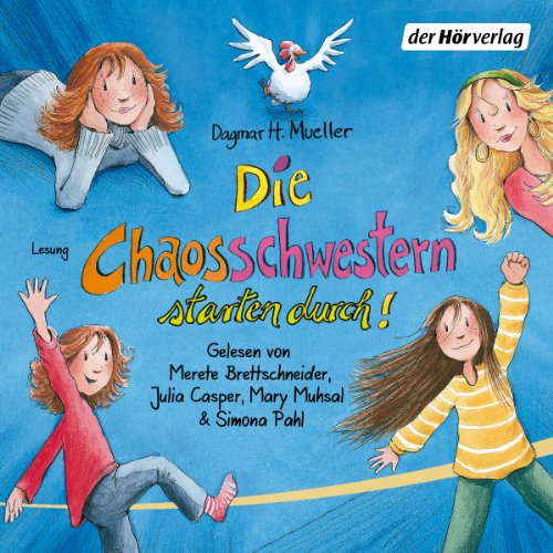 Die Chaosschwestern starten durch! audiobook cover art
