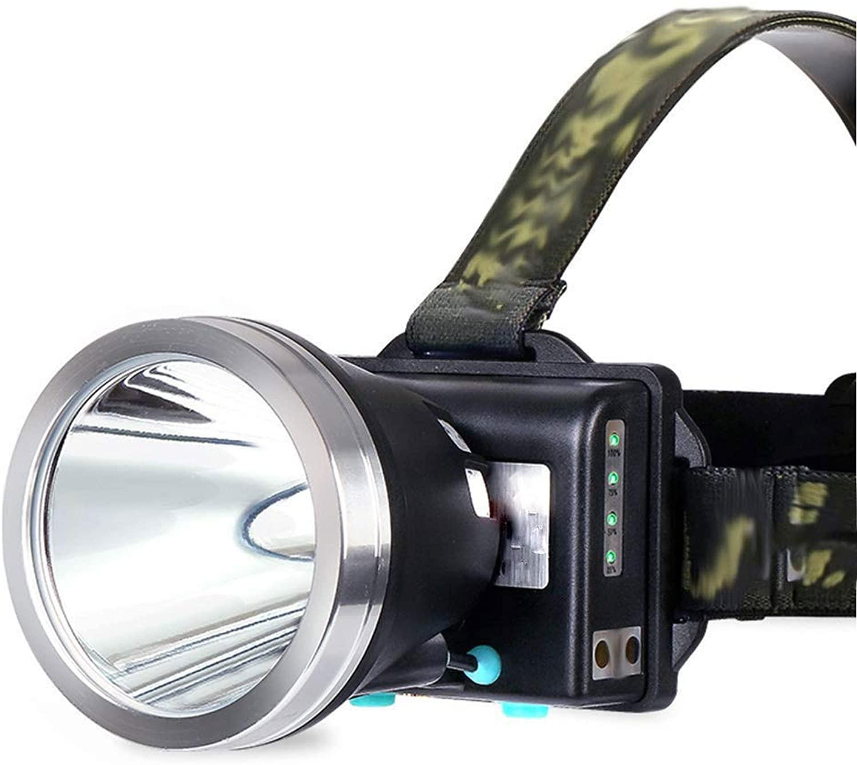 YDXYZ Angelscheinwerfer Mini Lightweight Scheinwerferlampe Night Emergency Multifunktions Bergmann Ergonomie Laternen Taschenlampe Lange Lebensdauer - Leicht, komfortabel und wetterfest. Blitzlicht
