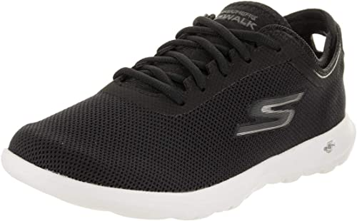 Skechers Wohommes Gowalk Lite Lite Lite Intuitive Fashion paniers noir blanc 9.5 B(M) US 1c1