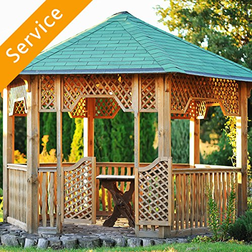 Gazebo installation service by Amazon